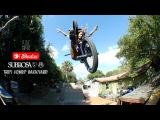 Backyard BMX Session at Trey Jones' w/ Shadow Subrosa