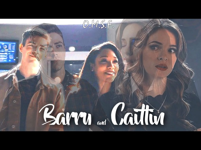 The Flash ϟ Barry Allen and Caitlin Snow ϟ Hold On.