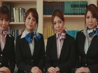 Japanese flight attendants (Airline Tokyo) - corporate | 2017