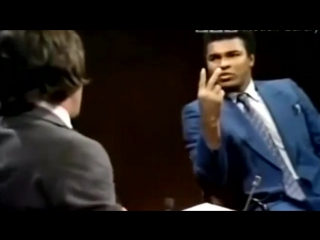Мухаммед Али против толерантности и смешивания крови.