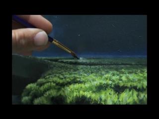 Художник 2,5 года создавал этот невероятный таймлапс