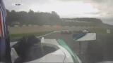 Ужасная авария Билли Монгера в Донингтоне (Британская Ф-4 2017)