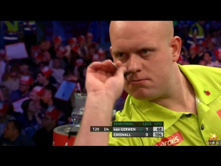 Michael van Gerwen v Dave Chisnall (PDC World Series of Darts Finals 2016 / Semi Final)