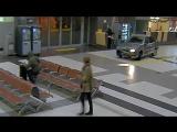 GTA в аэропорту в Казани 22.12.2016 полное видео с камер в терминале, погоня, прикол