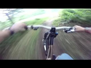 Mountain biking (DH) Go Pro Session HD 720p » Freewka.com - Смотреть онлайн в хорощем качестве
