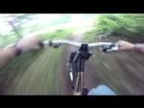 Mountain biking (DH) Go Pro Session HD 720p