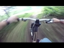 Mountain biking (DH) Go Pro Session HD 720p