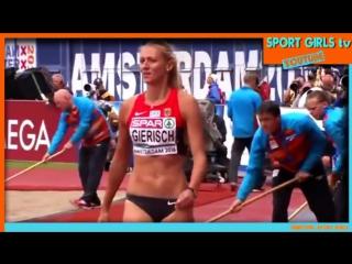 [HD] Top 10 Beautiful Triple Jump women - Olympic Athletes __