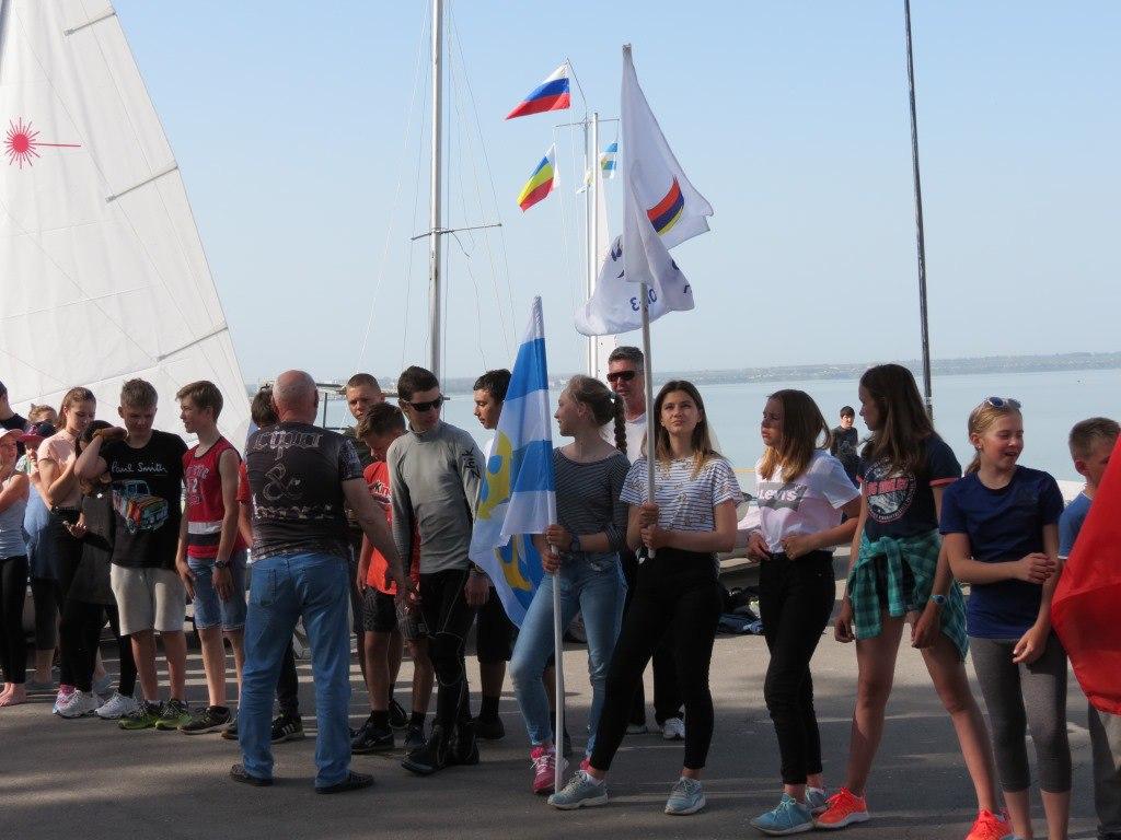 В Таганроге состоялись соревнования «Весенний парус Таганрога»