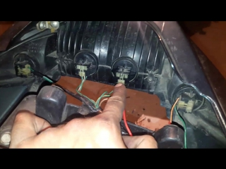 установка кулер на реле регулятор Honda VFR 800 2000 года