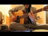 Андрей Леницкий ft. Hann - девочка моя(Cover-на гитаре) [240p]