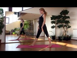 Растяжка в динамике:  Упражнения для ног и спины