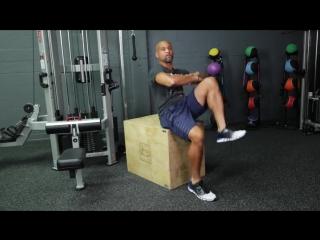 Эффективные упражнения для пресса - 5 Min Extra - Knee Ab Seated