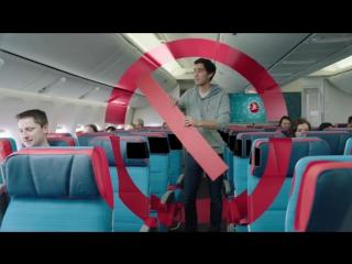 Зак Кинг показал «магию монтажа» в ролике авиакомпании Turkish Airlines