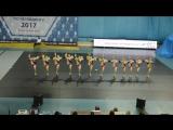 Чемпионат России 2017, чир фристайл юниоры, Foxes