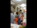 Дочки поют песню папе на 50летний юбилей.Анютка на подтанцовках!