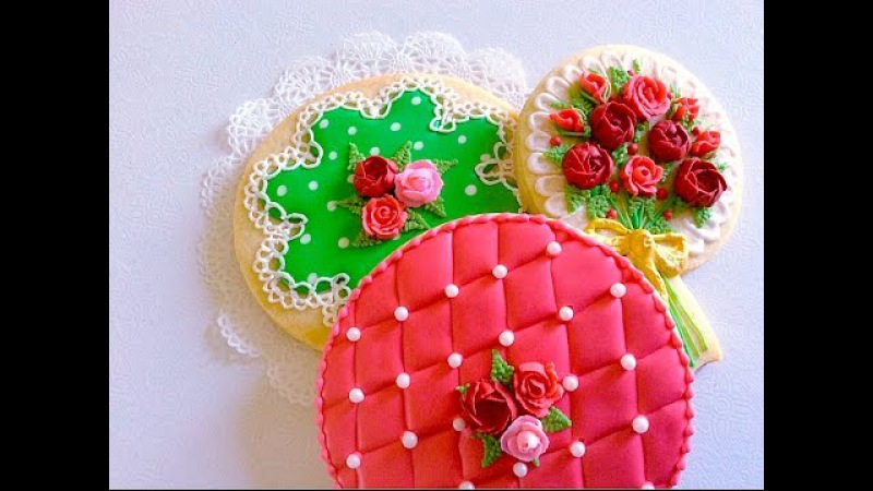Polka dot, Lace, Quilting cookies..