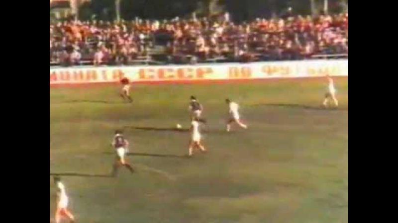 Guria Lanchkhuti - Atlantas Klaipeda 6-1 1986