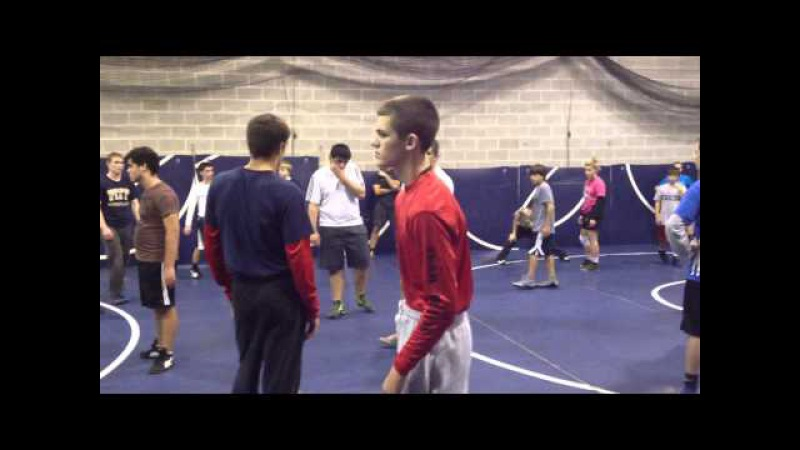Rutgers University asst Coaches at Apache Wrestling Club 10/24/12