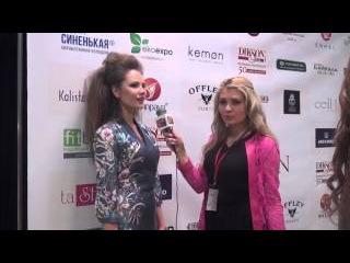 Интервью модели на Estet Fashion Week -