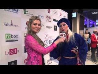 Интервью Ланы Киселевой на Estet Fashion Week -