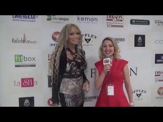 Интервью Экзотической певицы и композитора - Ламы (LAMA)на Estet Fashion Week -