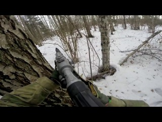 Old School Airsoft Игра Рельсовая Война 9 от орг. группы З.Л.О.