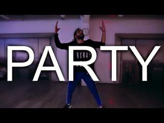 Chris Brown  Party feat. Gucci Mane & Usher   Koutieba Choreography