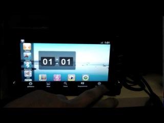 Ca-Fi 621000. Универсальная 2Din автомагнитола на Android 2.3.