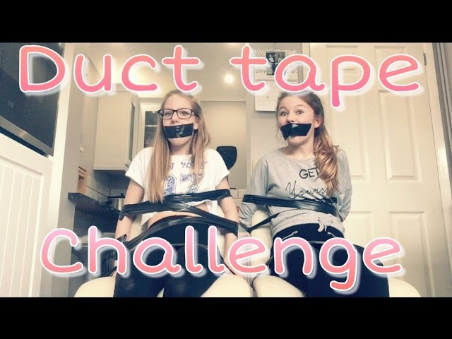 DUCT TAPE CHALLENGE!