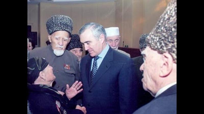 Ингушетия.Президент Мурат Зязиков с Народом .