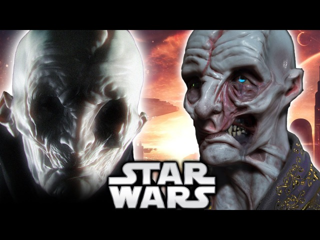 Snoke is Gallius Rax From Jakku - Star Wars Episode 8 The Last Jedi