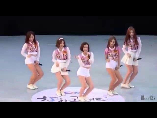 Прикольно кореянки зажигают под Наши русские песни