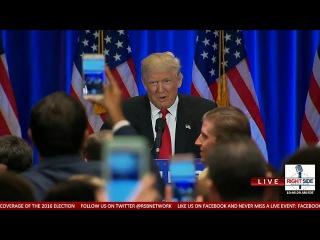 Donald Trump's Full Anti-Hillary Clinton Speech in NYC (6-22-16)