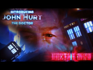 John Hurt - NeonVisual Darker Doctor Intro Sequence - Loan me your eyes!