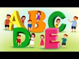 The Letter A to E Song - Learn the Alphabet - ABC Songs for Children - Nursery Rhymes by Kids Yogi