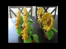 How to Crochet Amigurumi: Chain Stitch (Sunflower Stem)