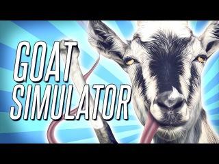 НЕОБЫЧНЫЕ ИГРЫ - Симулятор Козла . Goat Simulator(Угар) 2