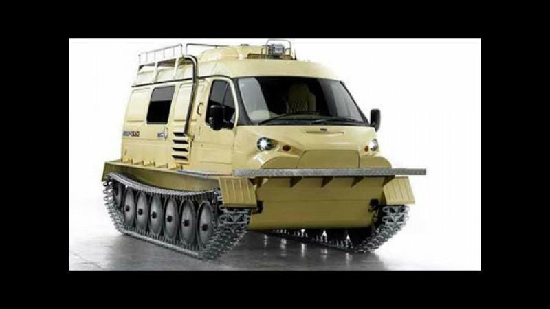 4 Extreme Amphibious and All-Terrain Vehicles You Have To See