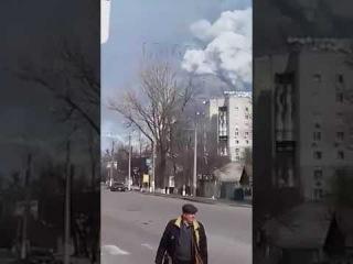 Взрывы боеприпасов в #Балаклея