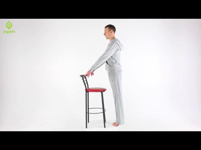 Здоровый позвоночник: йога упражнения для снятия напряжения в спине и шее. Yogalife