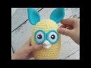 Crochet Furby (Ферби). Игрушка амигуруми крючком. Обзор.