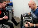Hector ellena bandoneon argentina y saya acordeon ucrania en saint ghislain el choclo tango billoldo