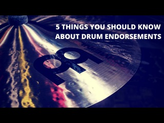 Adam Tuminaro Five Things You Should Know About Drum Endorsements