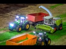 RC tractor action at Hof Mohr Farming in 1 32 scale by Siku Control