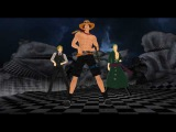 MMD One Piece (Ace, Zoro, Sanji) - Young