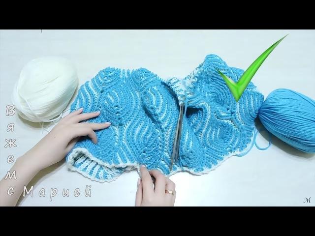Лайфхаки. Полезные советы при вязании спицами в технике БРИОШЬ Brioche Stitch