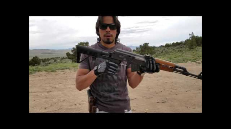 AK 47 Bump Fire Systems Stock Real Fun Toy