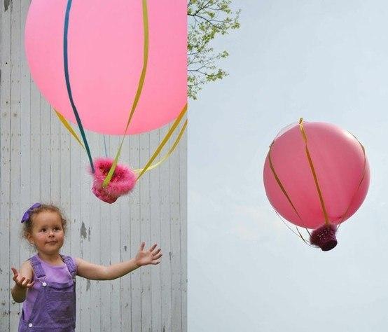 Воздушные шары с своими руками - Kaps-vl.ru