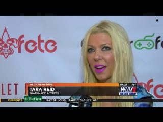 Tara Reid on the Fear Fete Dead Carpet 2016